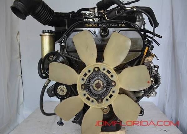 Photo 1997 - 2002 JDM TOYOTA TACOMA  4RUNNER 3.4L ENGINE V6 T100 2001 99 - $1,400 (JDM FLORIDA)