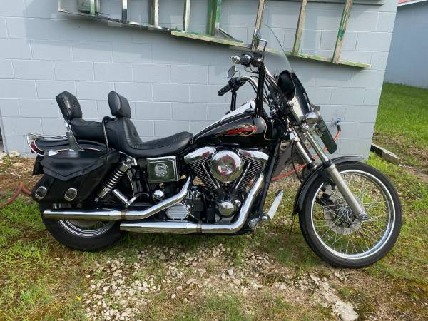 Photo 1998 Harley-Davidson FDWG Wide Glide - $5,500 (ANNISTON)
