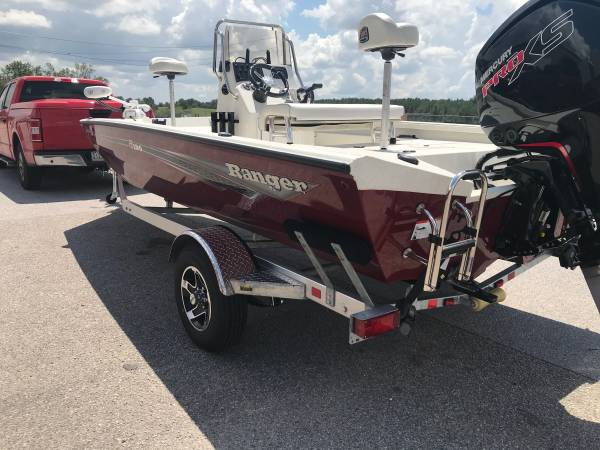 Photo 2020 Ranger rb190 mercury pro xs 115 center console boat - $30,500 (Hoover)