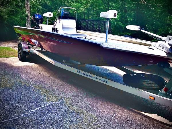 Photo 2020 Ranger rb190 mercury pro xs 115 center console boat - $30,500 (Hoover)