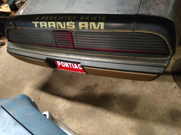 Photo Pontiac Trans am parts - $400 (TALLADEGA AL)