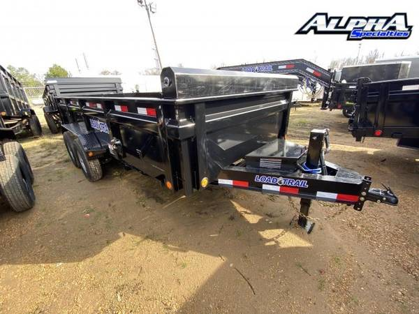 Photo Used 2020 Load Trail 8339 x 16quot w 24quot Sides Tandem Axle Dump Trailer 1 - $9,739