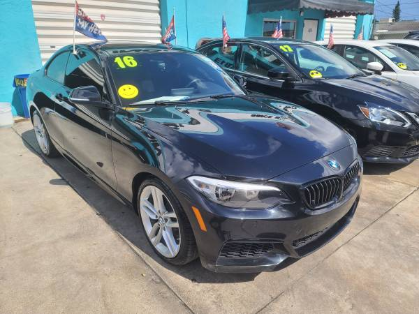 Photo 16 BMW 228 I BIGGEST BUY HERE PAY IN FL NO GAMES NO TRICKS NO BALLOONS JUST LICE - $1 (Hollywood)
