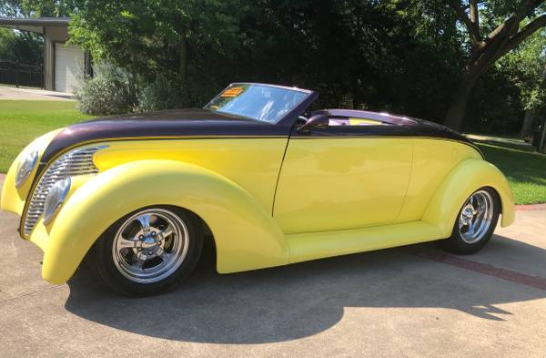 Photo 1939 Ford Convertible - $48,000 (Dallas TX)
