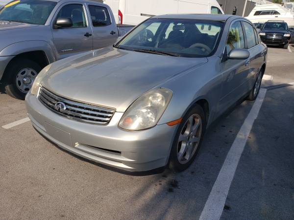 Photo 2003 INFINITI G35 LUXURYSALELOW PAYMENTS  ANY CREDIT APPROVED  - $1500 (CASH - HALLANDALE FL)