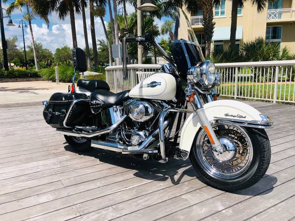 Photo 2006 Harley Davidson Heritage Softail Financing available - $6,200 (Boynton Beach)