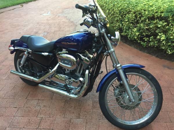Photo 2006 Harley Davidson Sportster 1200 Custom - $4,900 (Palm Beach Gardens)