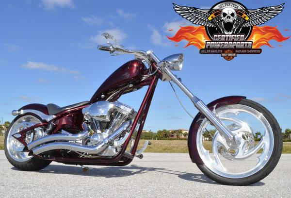 Photo 2007 BIG DOG SOFTAIL CHOPPER 117ci SS Motor Many Upgrades - $11,995 (Mint Condition  West Palm Beach)