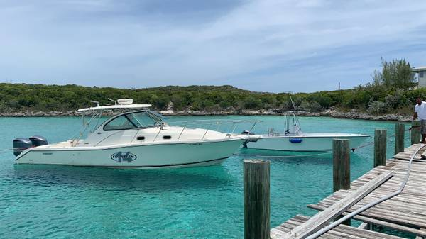Photo 2008 Pursuit OS335 with 2x 2012 Yamaha 350 - $35,000 (Staniel cay Bahamas)