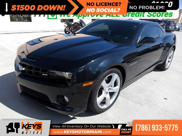 Photo 2011 Chevrolet Camaro 1SS 1 SS 1-SS Coupe FOR ONLY - $309 (81 Nw 22th Ave, Miami, FL 33125)