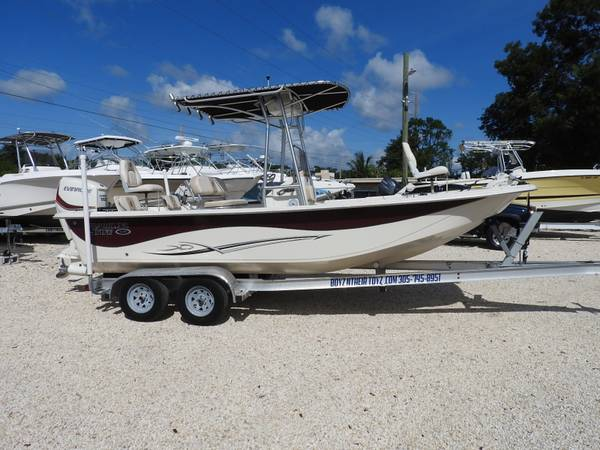 Photo 2015 218DLV Carolina Skiff center console fishing boat - $24,900 (KEY LARGO)