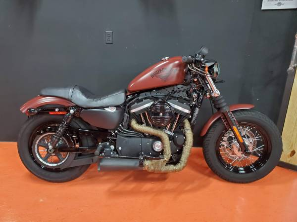 Photo 2017 HARLEY DAVIDSON IRON, 48 WITH 1275 cc BIG BORE KIT - $6,950 (Miami)