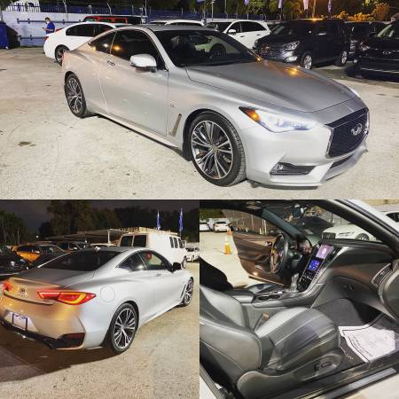 Photo 2018 INFINI Q60 3.0T $3499 DOWN DONT MATTER YOUR CREDIT SCORE - $3,499 (BAD CREDIT,NEWCREDIT,REPO,YOU GET APPROVED)