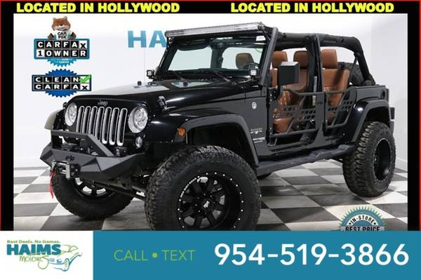 Photo 2018 Jeep Wrangler JK Unlimited - $39977 (2018JeepWrangler JK Unlimited)