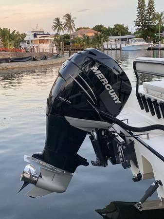Photo 2018 Mercury 350 Verado 25 with Dual station controls and steering - $19,500 (Pompano Beach)