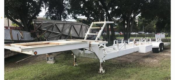 Photo 53 Myco Heavy Duty Boat Trailer . E we its Tandem dually Axles - $9,500 (Clearwater)