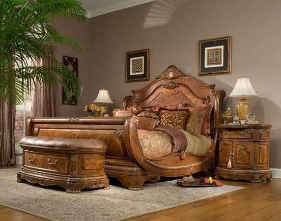 Photo AICO by Michael Amini Cortina king size bedroom set - $4,800 (Oakland Park)