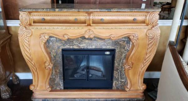 Photo AICO by Michael Amini Trevi Fireplace - $2,395 (Fort Lauderdale)
