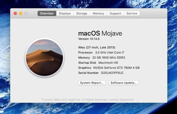 Photo Apple iMac 27-inch 3.5 GHz quad Core i7 32GB Ram 1TB SSD - $775 (Davie)
