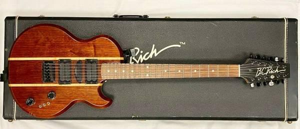 Photo B.C. Rich L6-S Style Paul Unkert Custom 12-String Guitar wOHSC - $2,500 (Miramar, FL)