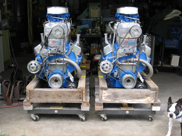 Photo BOATS-TWO NEW SUPERCHARGED BOAT ENGINES - $32,500 (Brunswick)