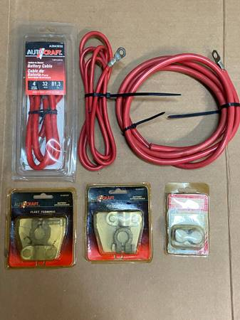 Photo Battery Cables and Terminals - $20 (Palm Beach Gardens)