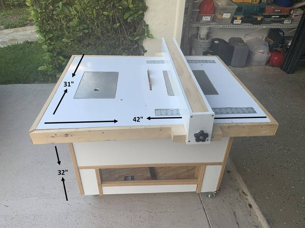 Photo COMBINATION TABLE SAW - $500 (Lakes of the Meadow)