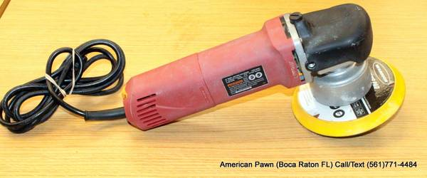 Photo Chicago Electric Platinum Dual Action 6quot PolisherBuffer 5.7A - $70 (BOCA RATON)