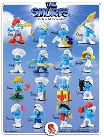 Photo Complete unopened set of all 16 McDonalds Smurfs (2011) (Leisure City near Homestead Air Reserve Base)