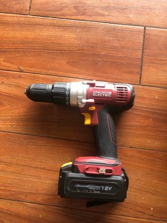 Photo Cordless Drill - Chicago Electric - $40 (royal palm beach)
