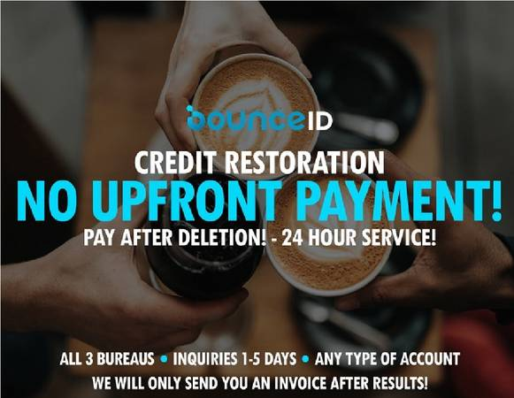 Photo Credit Repair-Pay AFTER Results 24hr Service