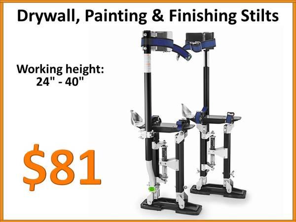 Photo Drywall Stilts Painters Taping Finishing Tools - Adjustable 24quot - 40quot - $81 (Tamarac)