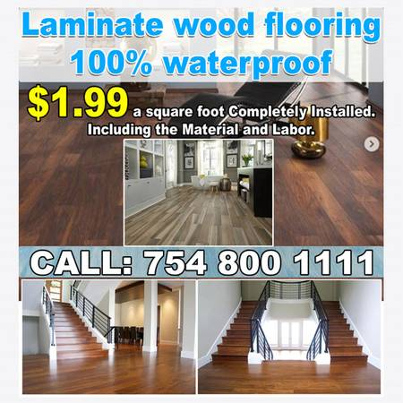 Photo FLOORING SALES AND INSTALLATION FLOORING MATERIALS 100 IN STOCK (SOUTH FLORIDA)