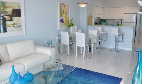 Photo GORGEOUS 21 WITH WD, PARKING, POOL, GYM..( ONLY $1000 DEPOSIT ) (LITTLE HAVANA  MIAMI RIVER)
