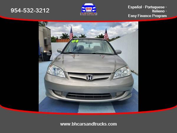 Photo Honda Civic - BH CARS  TRUCKS (954) 715-2964 $ 499 Down - $4175
