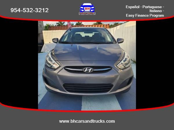 Photo Hyundai Accent - BH CARS  TRUCKS (954) 715-2964 $ 499 Down - $7495