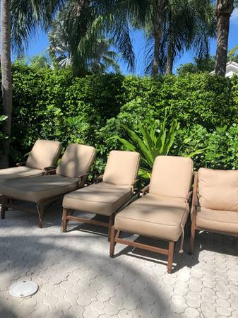 Photo Incredible Outdoor Furniture Set - $6,000