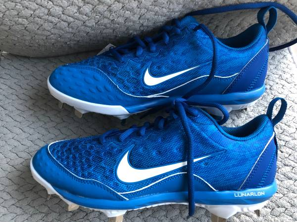 Photo Nike Womens Lunar Hyperdimond 2 Blue Softball cleats size 7 856492 - $25 (Hallandale Beach)
