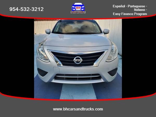 Photo Nissan Versa - BH CARS  TRUCKS (954) 715-2964 $ 499 Down - $6495