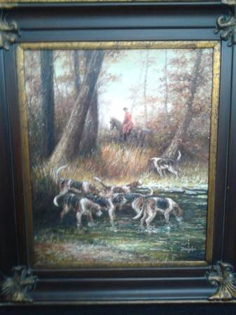 Photo Oil Painting Frame 32.875 x 29 in. - $295 (West Palm Beach)