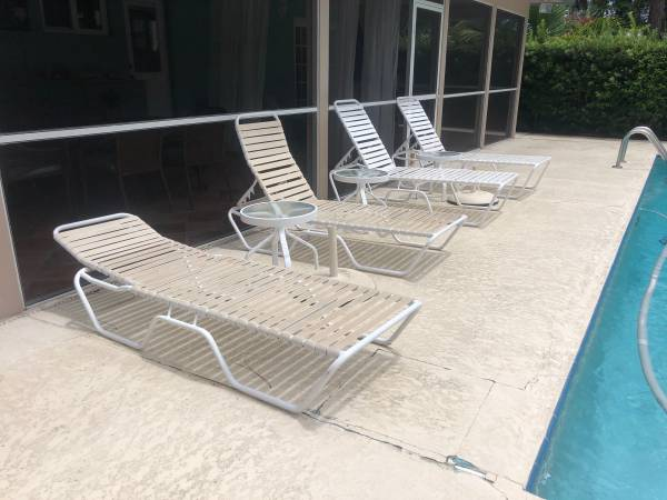 Photo Outdoor Patio Furniture ((DETAIL FOR PRICING) - $123,456 (Tequesta fl)