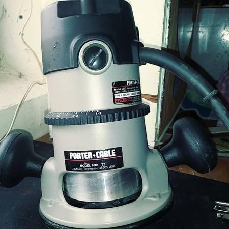 Photo Router, Porter Cable - $100 (Pembroke Pines)