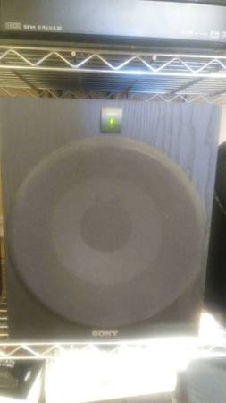 Photo Sony 10 inch powered subwoofer - $52 (Boynton beach)