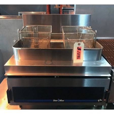 Photo Star Max Counter-Top 30 Pound Fryer - Maltese  Co New and Used resta - $1,395 (Fort Lauderdale)