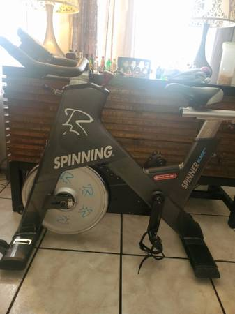 Photo Star Trac Blade Ion spin bike cycle - $600 (Miami)