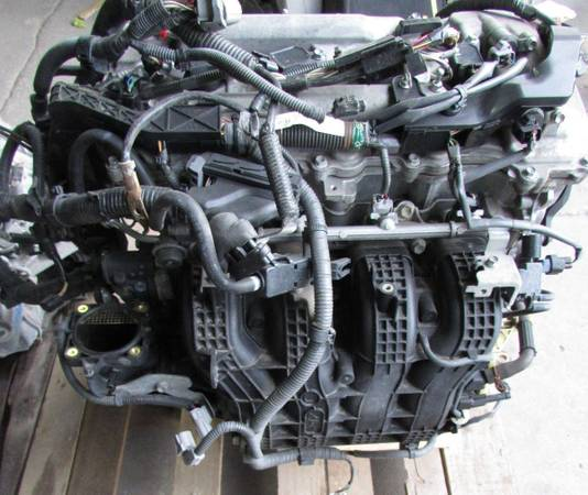 Photo TOYOTA CAMRY 2010 2.5L ENGINE (USED AUTO PARTS)