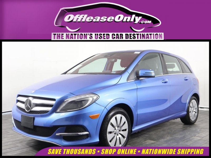 Photo Used 2016 Mercedes-Benz B-Class Electric Drive  for sale