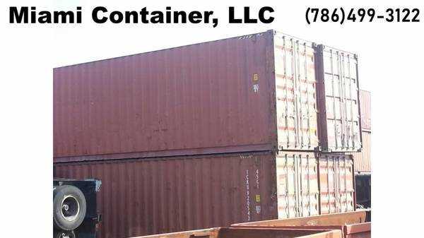 Photo Used  New 40Ft Cargo Storage Shipping ContainerSConex Box FOR SALE - $1 (Container and Containers)