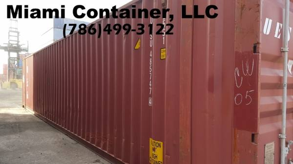 Photo Used  New On Sale 40Ft Storage,Cargo, Shipping, Containers, FOR SALE - $1 (Container and Containers)