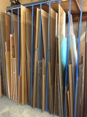 Photo plexiglas acrylic lucite clear sheets 4 x 8 x 14quot - $197 (Fort Lauderdale)